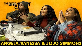 Angela, Vanessa & JoJo Simmons On Childhood Beef, Love Life, Growing Up Hip-Hop + More.
