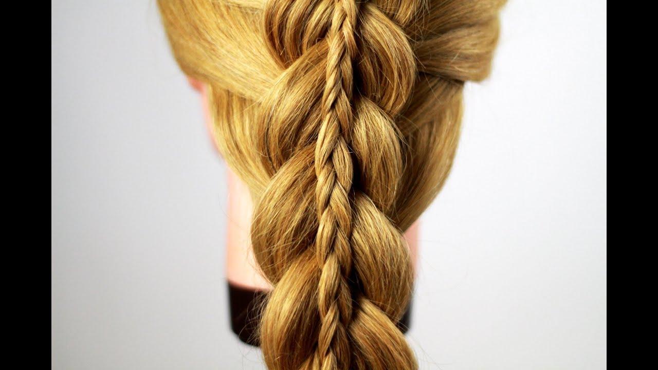 Фото причёски коса в косе