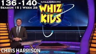 "Who Wants To Be A Millionaire? #28 | Season 15 | Episode 136-140 | ""WHIZ KIDS WEEK"""