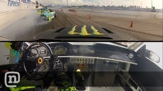 Vaughn Gittin Jr. Battles At Monster Formula Drift #3 Palm Beach