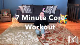 7 Minute Core Workout