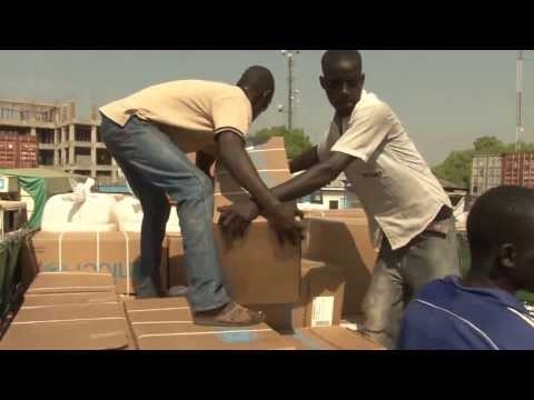 Desperate need in Malakal, South Sudan- UNICEF rushes out supplies.