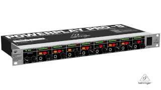 POWERPLAY PRO-8 HA8000 High-Power Headphones Mixing and Distribution Amplifier