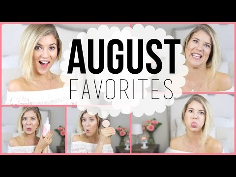 August Favorites: Makeup, Books, Jewelry & 1 MILLION Subscribers!