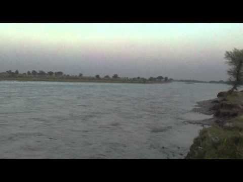 Beautiful views of River Jhelum in Village of Tawakhal Pur Pakhwal In Dist Jhelum Pakistan