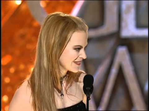Nicole Kidman Wins Best Actress Motion Picture Musical or Comedy - Golden Globes 2002