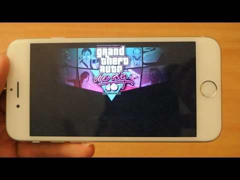 iPhone 6 - GTA Vice City - Gameplay Review HD