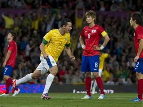 Brazil Vs South Korea 3-0 (All Goals) - Olympics 2012