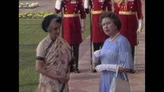 The Queen visits New Delhi, 1983