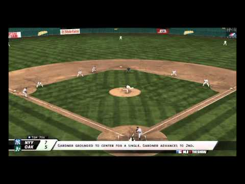 MLB 11 The Show - Yankees@Athletics: Highlight Reel