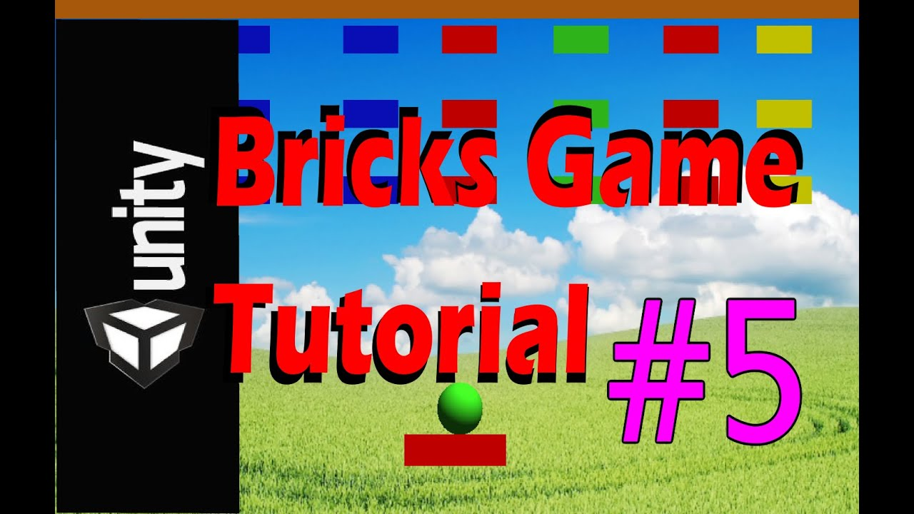 Color Breaker Game Unity 2d Brick Breaker Game