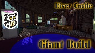 Ark: Survival Evolved - Giant Build - River Castle - E10 - Decoration Pt.1
