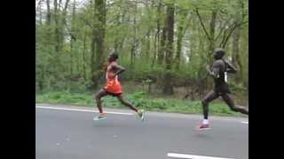 Rotterdam marathon 2012 (Moses Mosop)