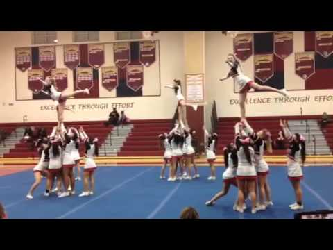 Quince Orchard high school cheer competition