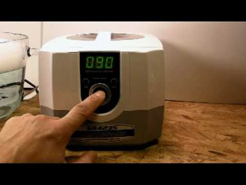 Smartreloader SR4235 Ultrasonic Cleaner [A Dirty Case Cleaned in Seconds!]