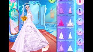 Best Games for Kids - Ice Princess Royal Wedding Day Learn Makeup Colors Fashion Girl Games to Play