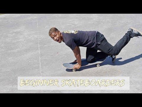 10 Types of Beginner Skateboarders