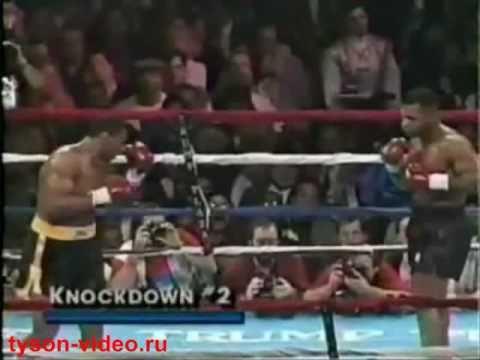 Майк Тайсон - Алекс Стюарт 40 (2) Mike Tyson vs Alex Stewart