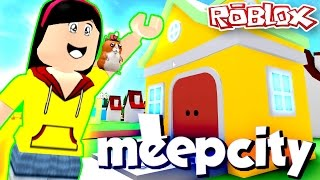 Moving into Meep City - DOLLASTIC PLAYS Roblox Mini Game