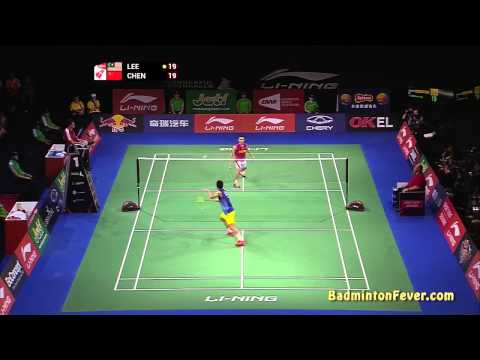 Badminton Highlights - Lee Chong Wei Vs Chen Long - 2014 World Championships - Ms Finals video