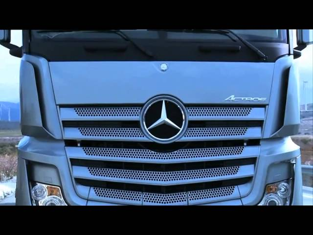 ► 2012 Mercedes-Benz ACTROS on the road