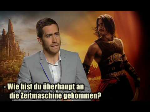 Prince of Persia Sand of time: Jake Gyllenhaal, Gemma Arterton, Sir Ben Kingsley meet Daniele Rizzo