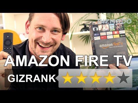 Amazon Fire TV - Ausführlicher Test vieler Funktionen