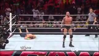 Monday Night Raw 2/10/14 | Randy Orton vs. John Cena | Full Match