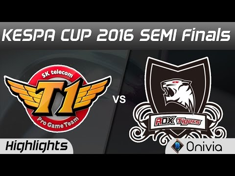 SKT vs ROX Highlights Game 2 Kespa Cup 2016 SEMI Finals SK Telecom T1 vs ROX Tigers