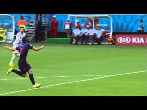 Spain vs. The Netherlands 1-5 - The Revenge of Holland