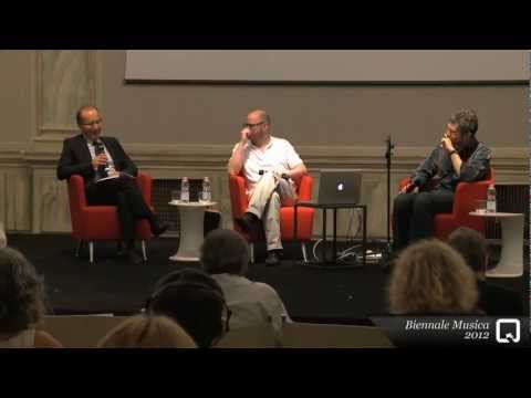 Biennale Musica 2012 – A meeting with Franck Bedrossian and Raphaël Cendo