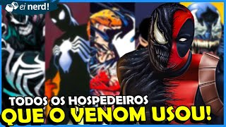 OS HOSPEDEIROS DO VENOM MAIS IMPORTANTES