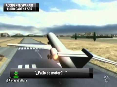 Accidente De Spanair, Conversaci�n Entre Pilotos - Antena3 Noticias