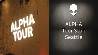 Alienware #AlphaTour Stop - Seattle