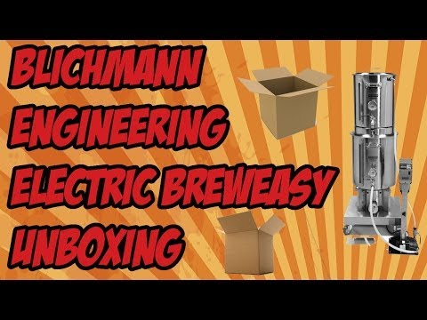 Blichmann BrewEasy Electric Brewing System Unboxing   Beer Geek Nation Craft Beer Reviews