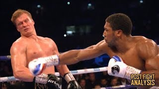 ANTHONY JOSHUA VS ALEXANDER POVETKIN - KNOCKOUT!!! AJ SURVIVES!!! POST FIGHT REVIEW (NO FOOTAGE)