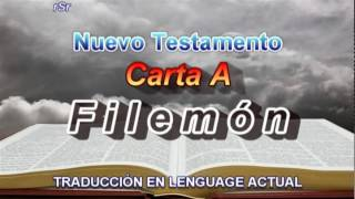 Carta A Filemón  - Traducción Lenguage Actual