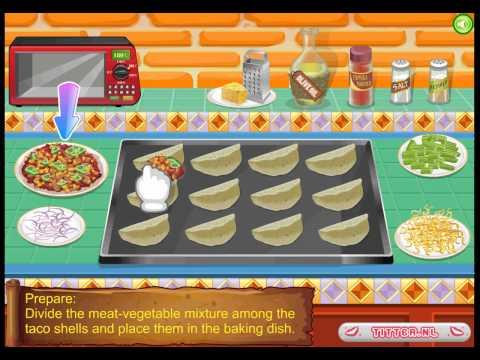 Tacos mexicains - Jeux Gratuits de Cuisine - Titter.fr