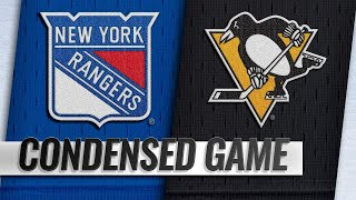 02/17/19 Condensed Game: Rangers @ Penguins
