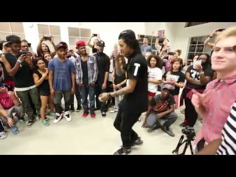 Les Twins Boston Workshop, Cypher Part One video