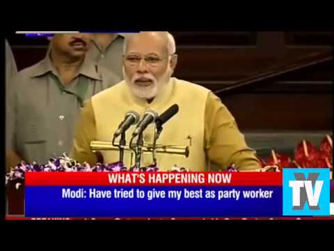 Indian PM Narendra Modi crying says BJP & India are his mother.. !!!