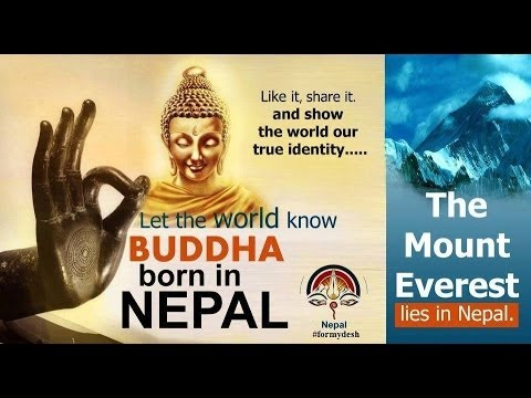 Lord Buddha Was Born In Nepal video