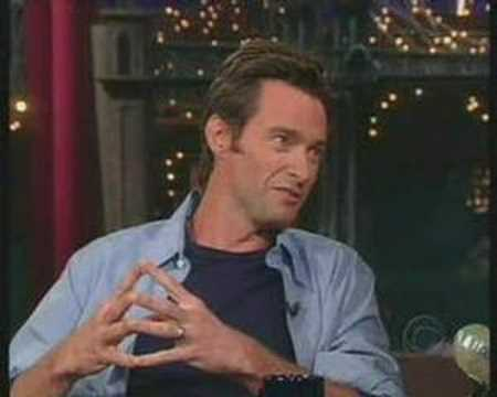 Hugh On David Letterman