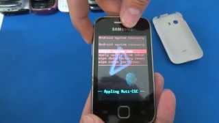 Como Formatar Samsung Galaxy Y S5360 e S5367 || Hard Reset, Desbloquear. G-Tech