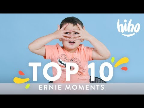 Ernie's Top 10 Moments | Top 10 | HiHo Kids