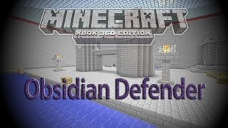 Minecraft Xbox 360: NEW Obsidian Defender PVP Map w/ Download! [1.8.2]