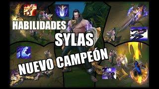 SYLAS~EL USURPADOR NUEVO CAMPEÓN DE League Of Legends