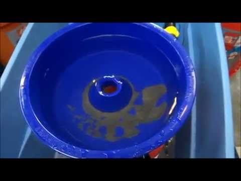 Blue Bowl Concentrator - Fine Gold Recovery from Black Sand