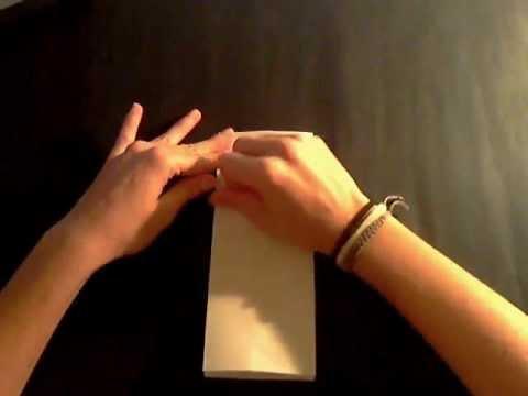 Bolsita de papel para regalos youtube - Como hacer bolsas de regalo ...