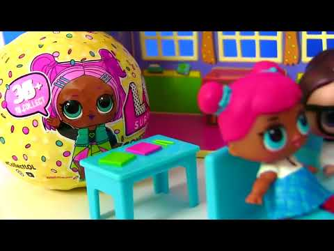 Куклы Лол Мультик! Детский сад для лол! Лол школа! Детский мультик! Lol surprise
